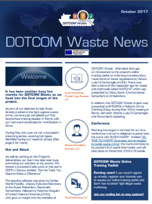 DOTCOM Waste Newsletter Oct 2017